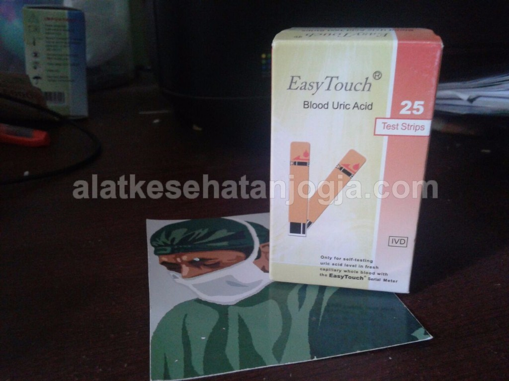 Refil Strip Easy Touch Asam Urat