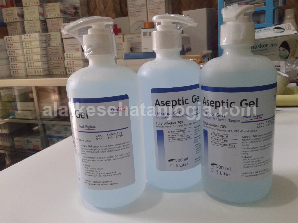Aceptic Gel 500 ml Antiseptic gel Pembersih tangan