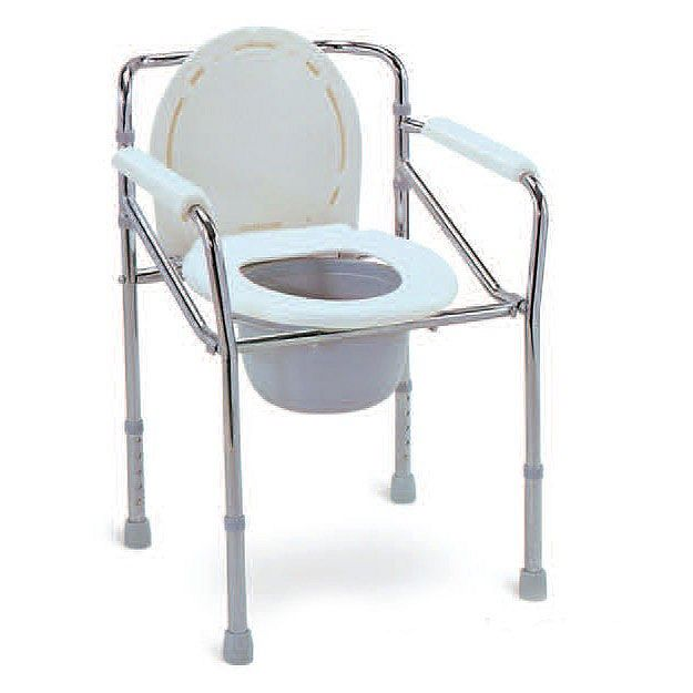 Kursi BAB Commode Chair tanpa roda